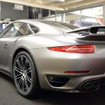 Porsche 911 Matte Grey Front Angled