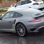 Porsche 911 Matte Grey Rear