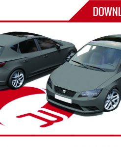 Seat Leon Downloadable PSD