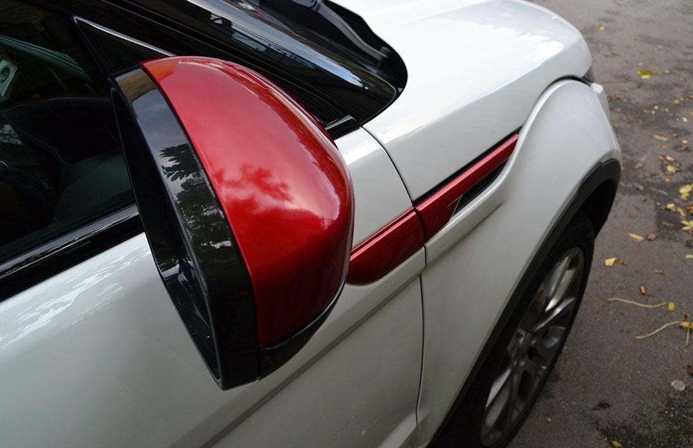 Range- Rover Evoque Kandy Red Details