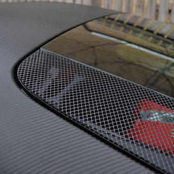 Ferrari 458 Carbon Roof Repair Close Up