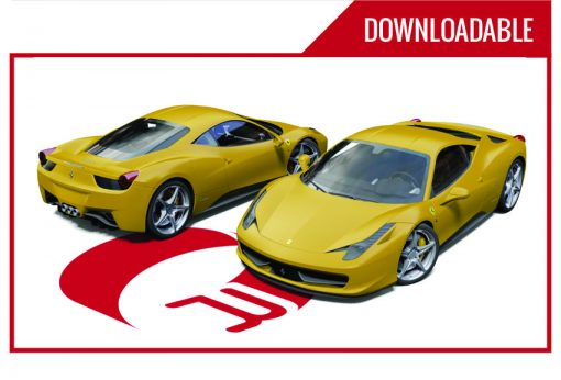 Ferrari 458 Downloadable
