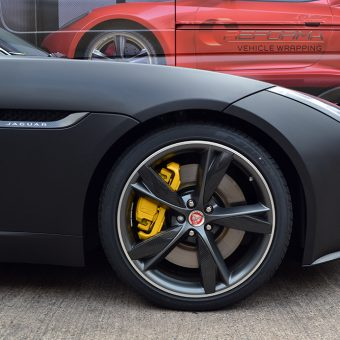 Jaguar F Type Matte Black Nose