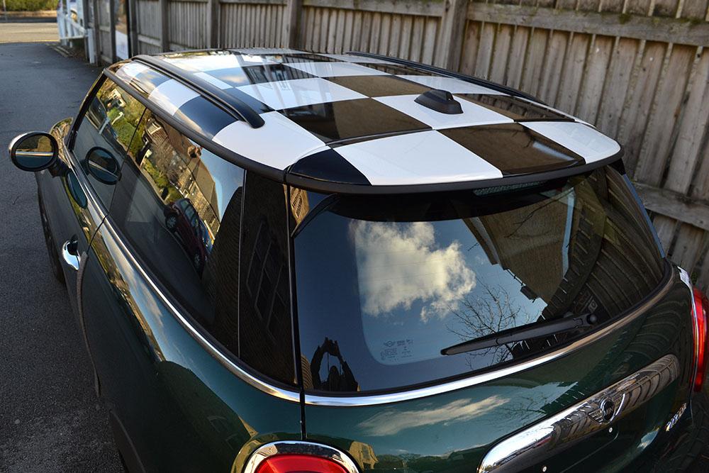 Mini Cooper Chequered Roof Reforma Uk