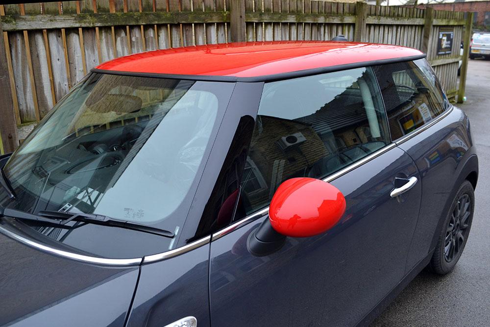 Mini Cooper SD Red Close