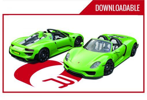 Porsche 918 Downloadable