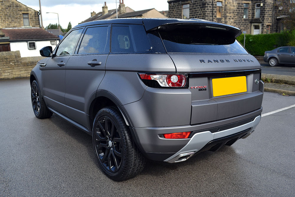 Range Rover Evoque >> Matte Grey Metallic Range Rover Evoque - Reforma UK