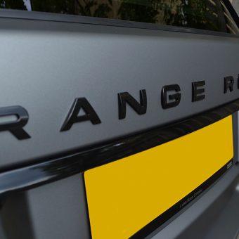 Range Rover Vogue Matte Grey Front