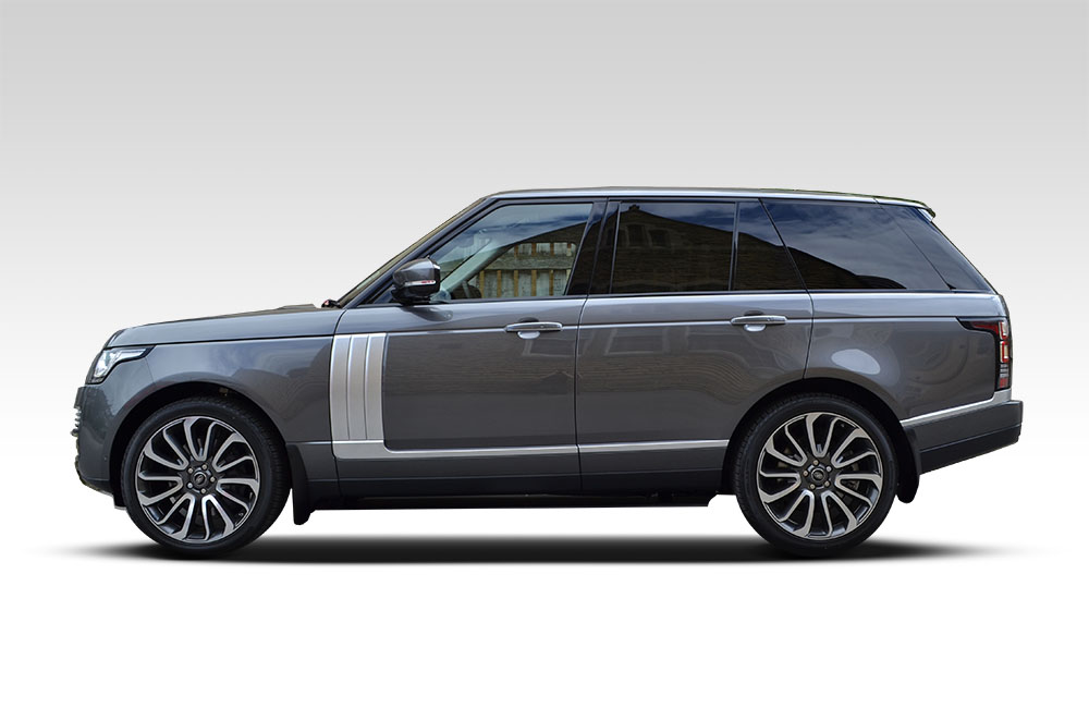 Matte Grey Metallic Range Rover Vogue Reforma Uk