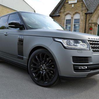 Range Rover Vogue Matte Grey Metallic Front