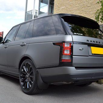 Range Rover Vogue Matte Grey Rear