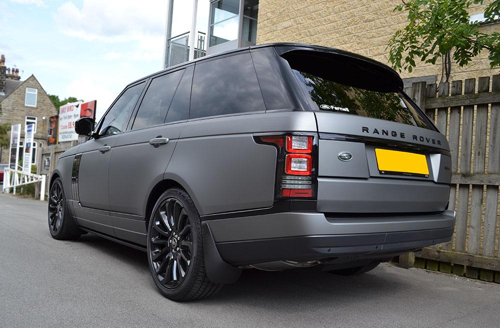 matte grey metallic range rover vogue reforma uk