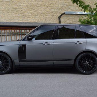 Range Rover Vogue Matte Grey Side