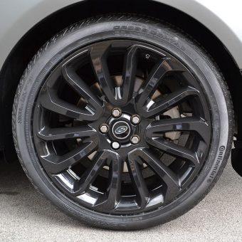 Range Rover Vogue Matte Grey Wheel