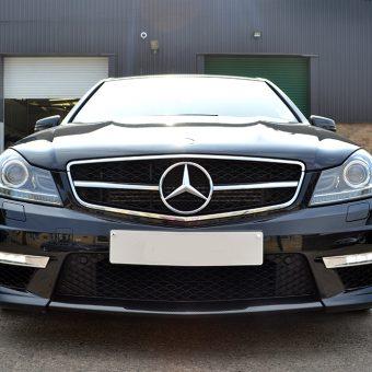 Mercedes C63 AMG Carbon Front