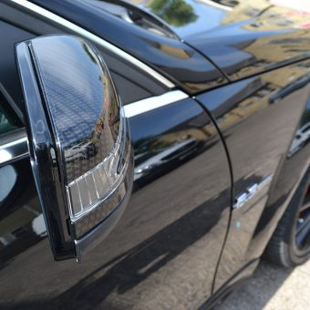 Mercedes C63 AMG Carbon Mirror