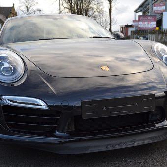 Porsche 911 Turbo S Front