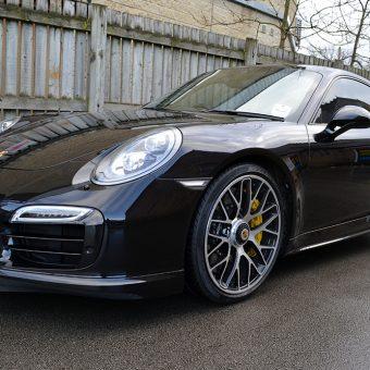 Porsche 911 Turbo S Front Corner
