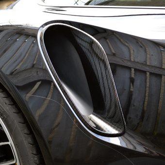 Porsche 911 Turbo S Rear Scoop