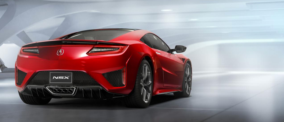 Acura-nsx-rear