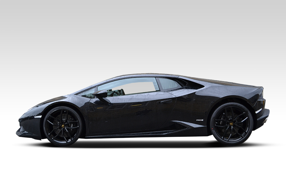 lamborghini huracan wrapped in matte black reforma uk. Black Bedroom Furniture Sets. Home Design Ideas