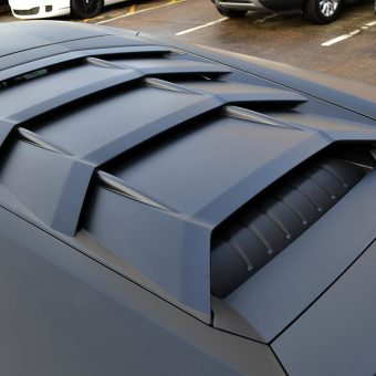 Lamborghini Huracan Matte Black Rear Vents