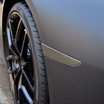 Lamborghini Huracan Matte Black Tinted Reflector