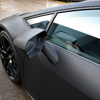 Lamborghini Huracan Matte Black Wing Mirror