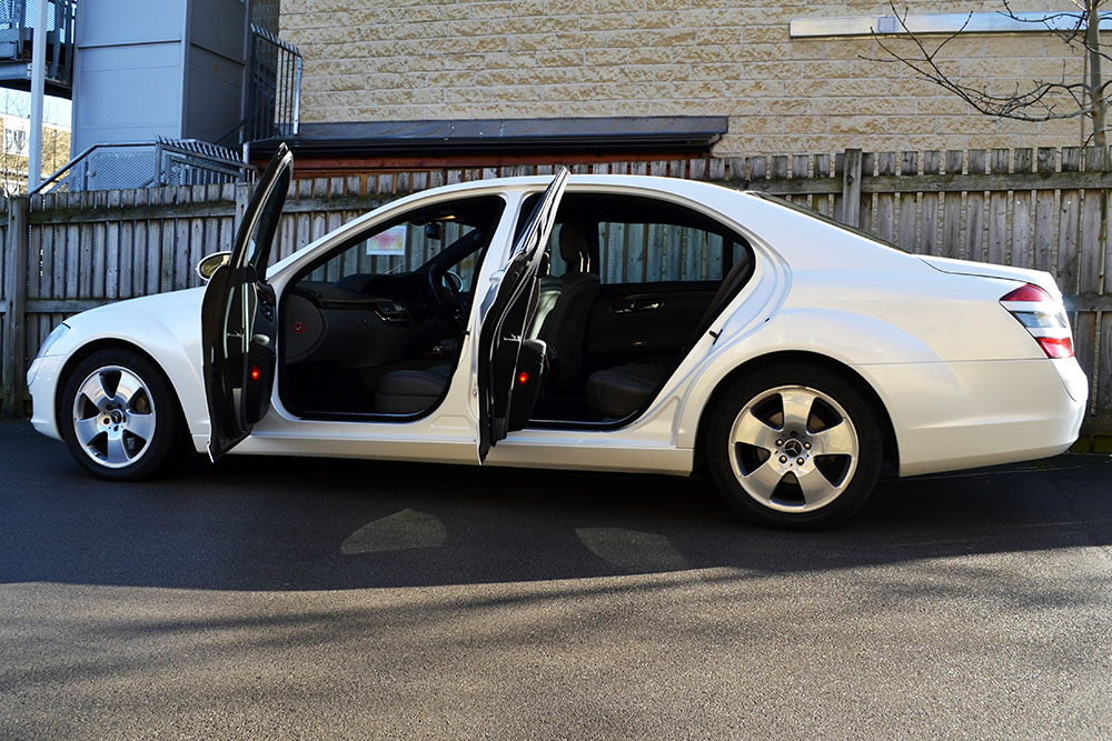 mercedes s class pearl white door shuts - 2015 Mercedes S Class White