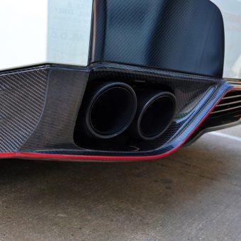 Nissan GTR White Carbon Nismo Diffuser