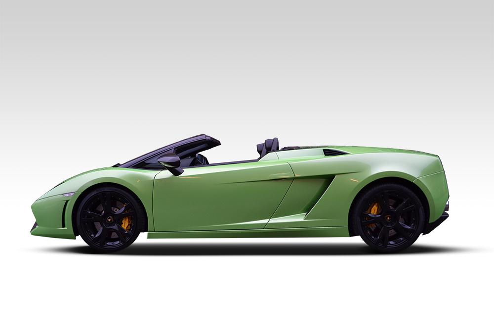 Lime Green Lamborghini Gallardo Wrap - Reforma UK