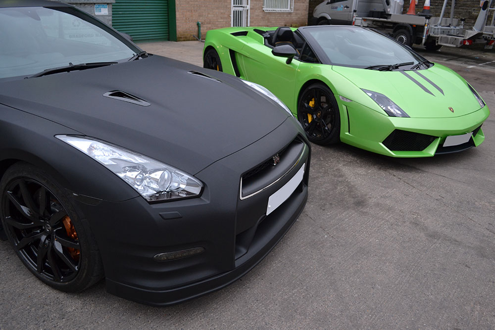 How Much To Get A Car Wrapped Matte Black