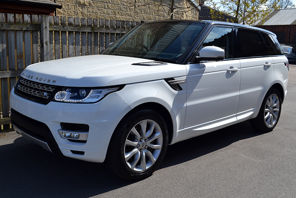 Range Rover Sport Gloss Black Roof Wrap Reforma Uk