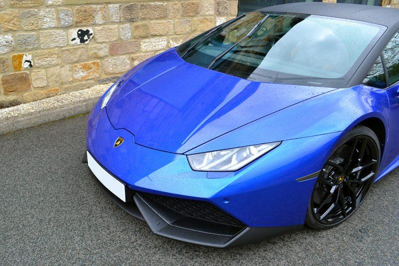 Lamborghini Huracan 3M Cosmic Blue Front Bumper
