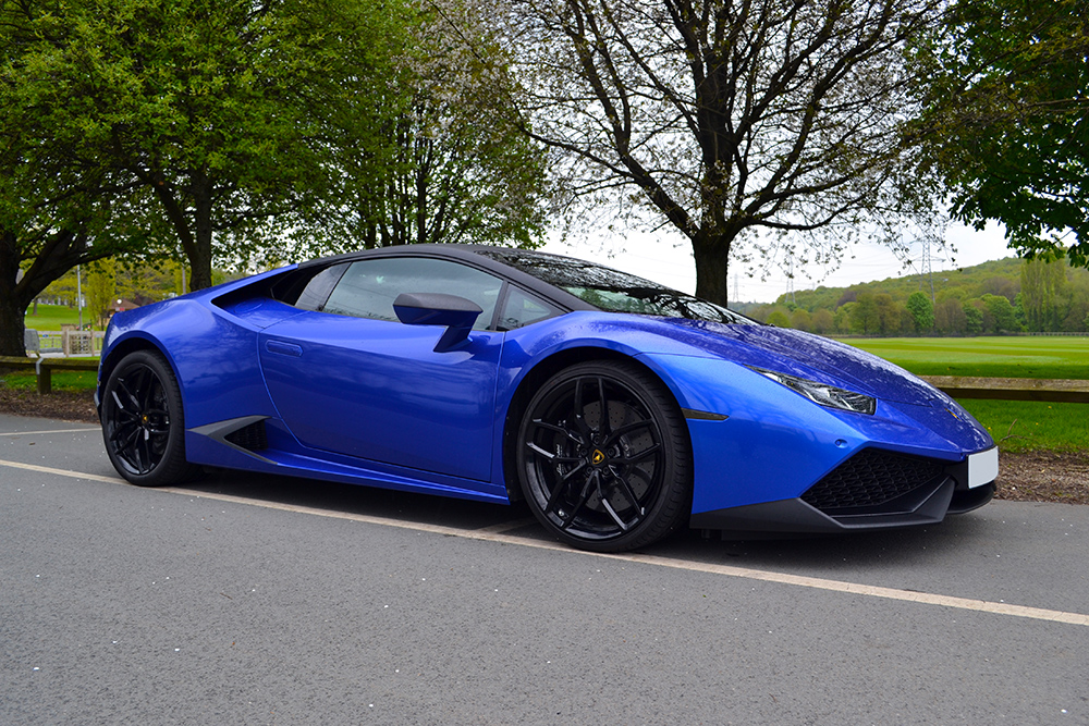 Cosmic Blue Wrapped Lamborghini Huracan By Reforma Uk