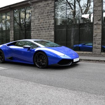 Lamborghini Huracan 3M Cosmic Blue Glass