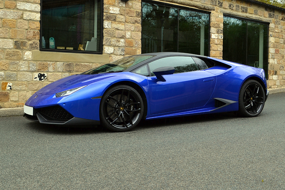 Cosmic Blue Wrapped Lamborghini Huracan By Reforma Uk