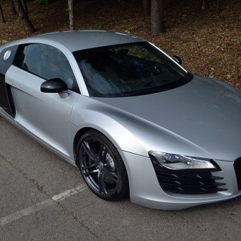 Audi R8 Front Angled