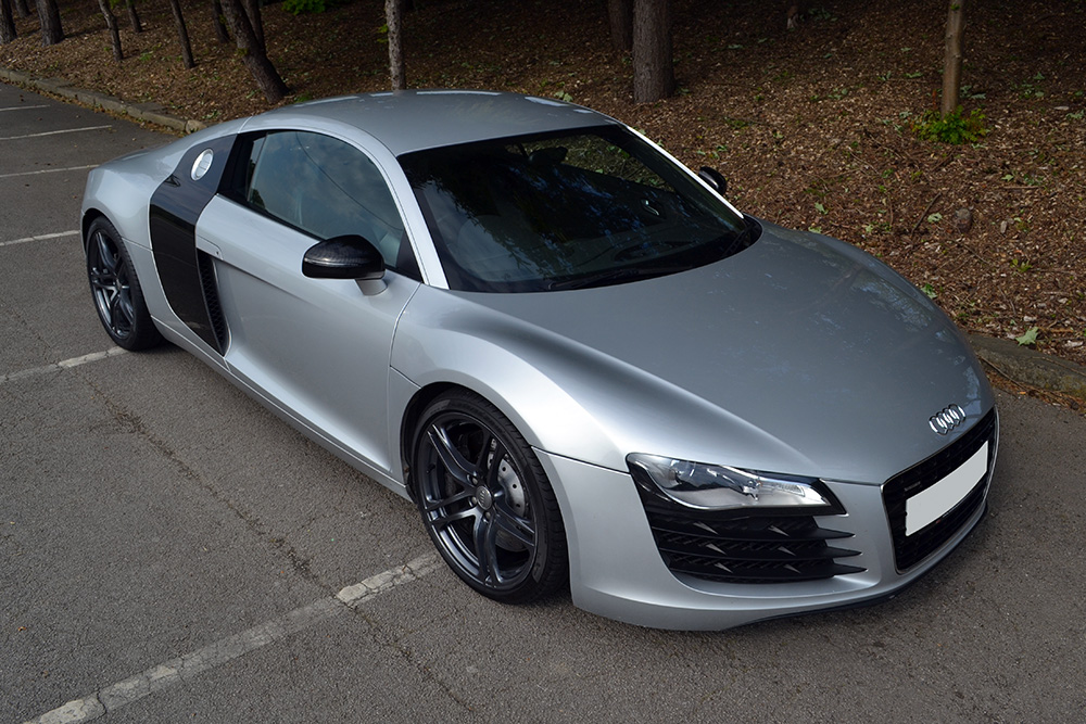 Finishing Touches for Audi R8