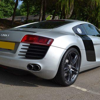 Audi R8 Rear Angled