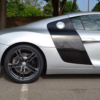 Audi R8 Rear End