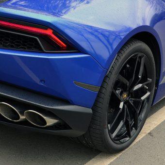 Lamborghini Huracan 3M Cosmic Blue Light Tints
