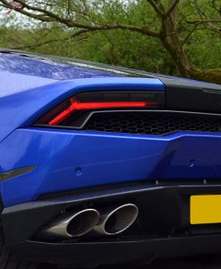 Lamborghini Huracan 3M Cosmic Blue Light Tints Rear