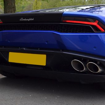 Lamborghini Huracan Rear Diffuser