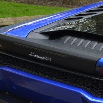 Lamborghini Huracan Rear Engine Trim