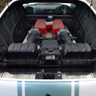 Ferrari 360 Satin Pearl Engine Bay