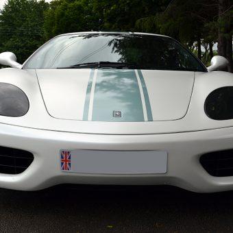 Ferrari 360 Satin Pearl Front
