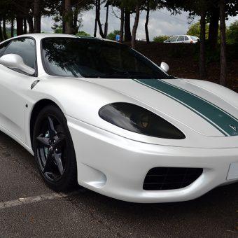Ferrari 360 Satin Pearl Front Angled
