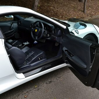 Ferrari 360 Satin Pearl Interior Door