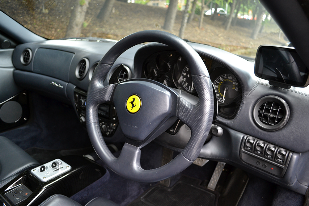ferrari 360 full wrap interior and exterior reforma uk. Black Bedroom Furniture Sets. Home Design Ideas